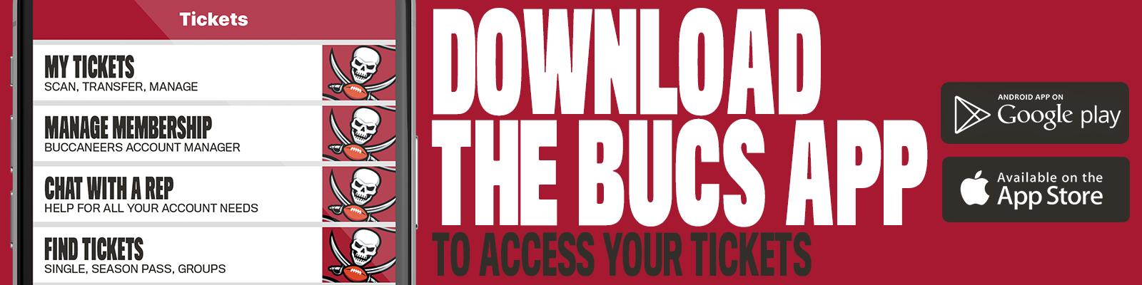 Download the Buccaneers App