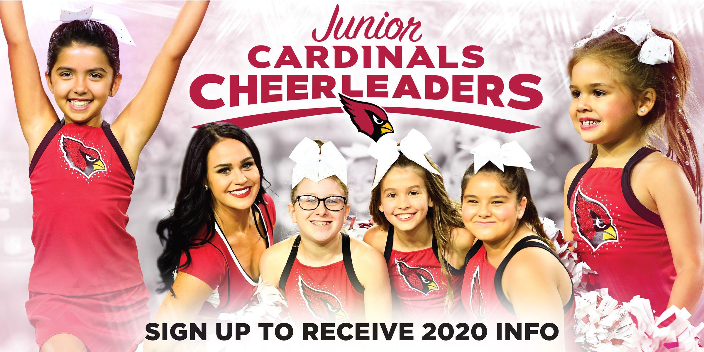 Junior Cardinals Cheerleaders 2020 Information