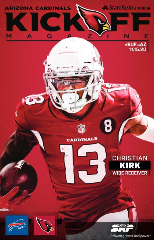Kickoff Magazine Cover Week 10 #BUFvsAZ