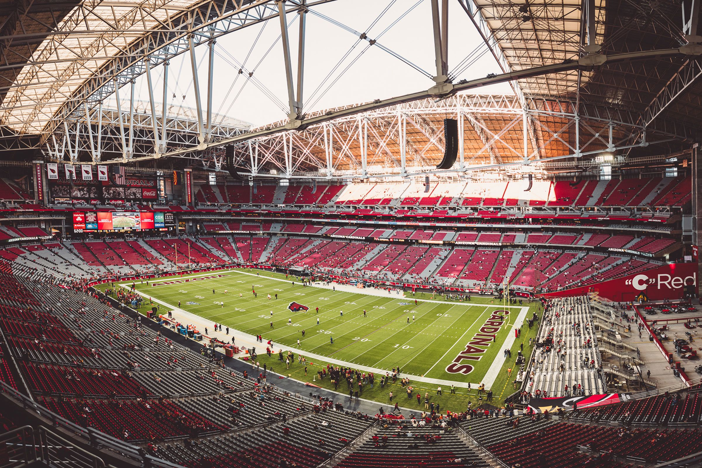 arizona cardinals home the official source of the latest cardinals headlines news videos photos tickets rosters and game day information arizona cardinals home the official