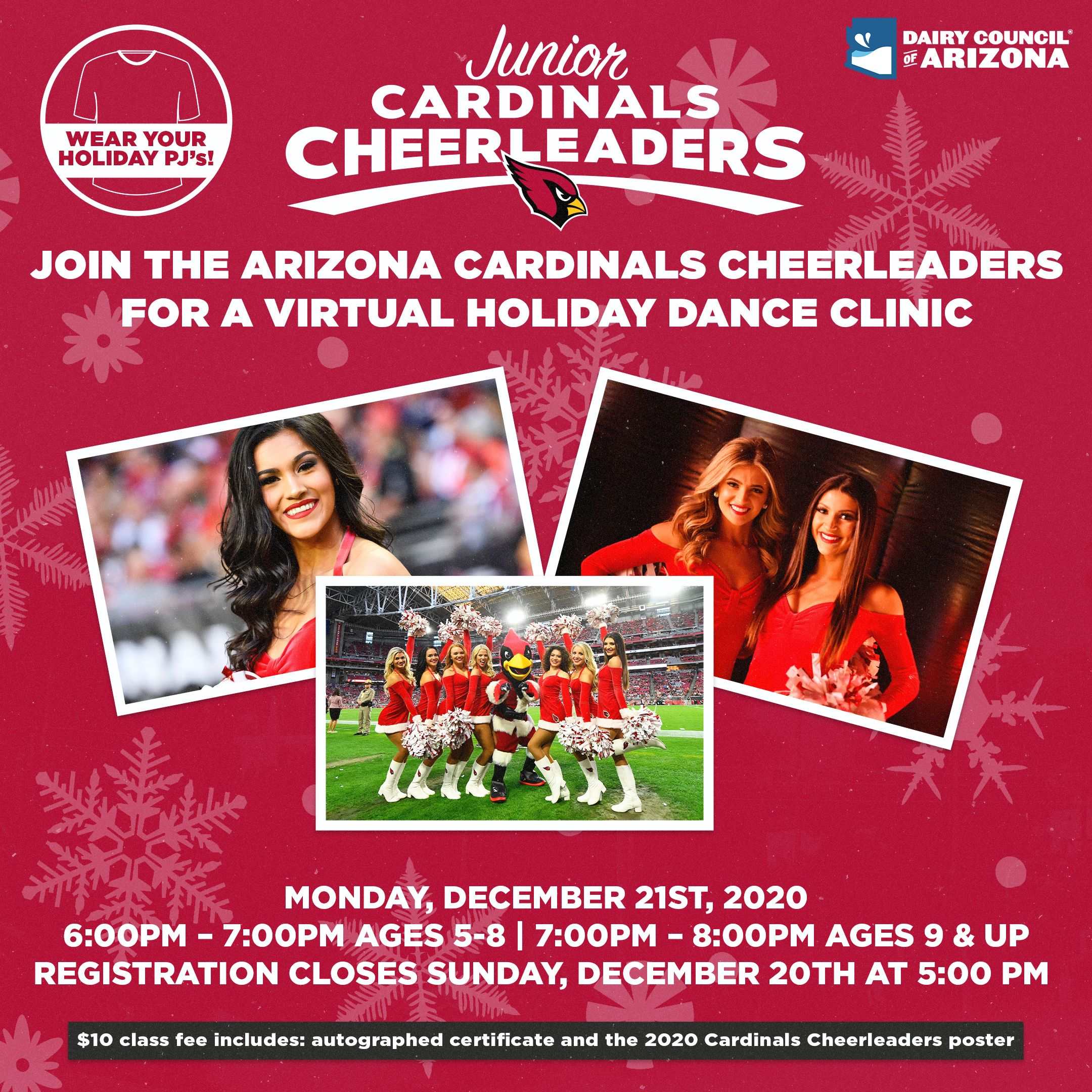 Junior Cheer Virtual Holiday Dance Clinic