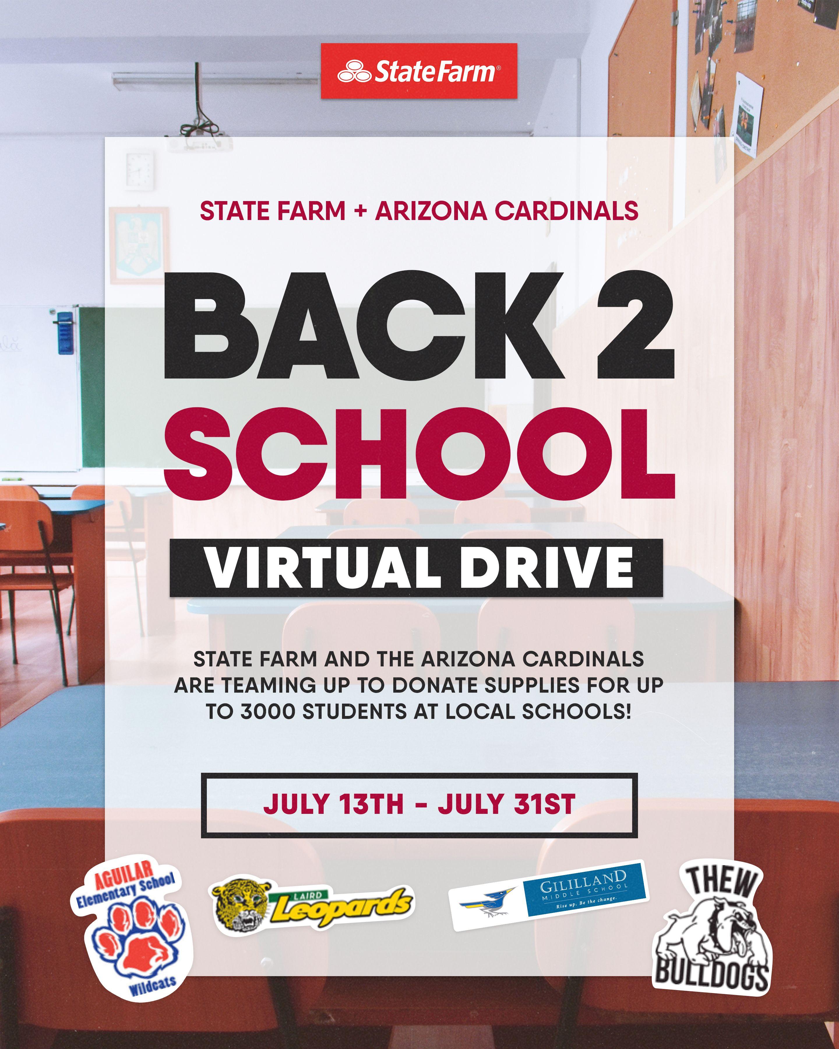 Back 2 School Virtual Drive Through July 31