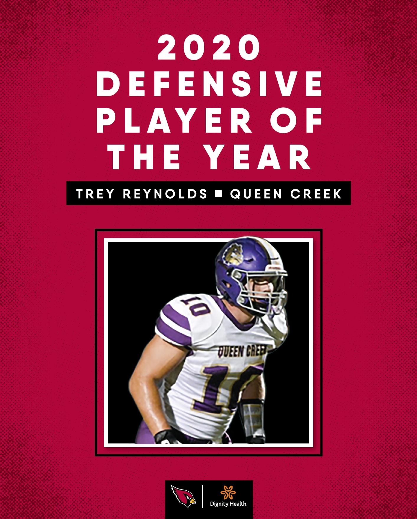 Trey Reynolds Defensive POY