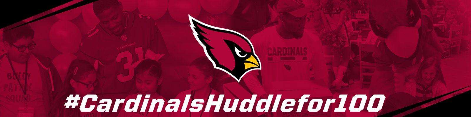 #CardinalsHuddleFor100