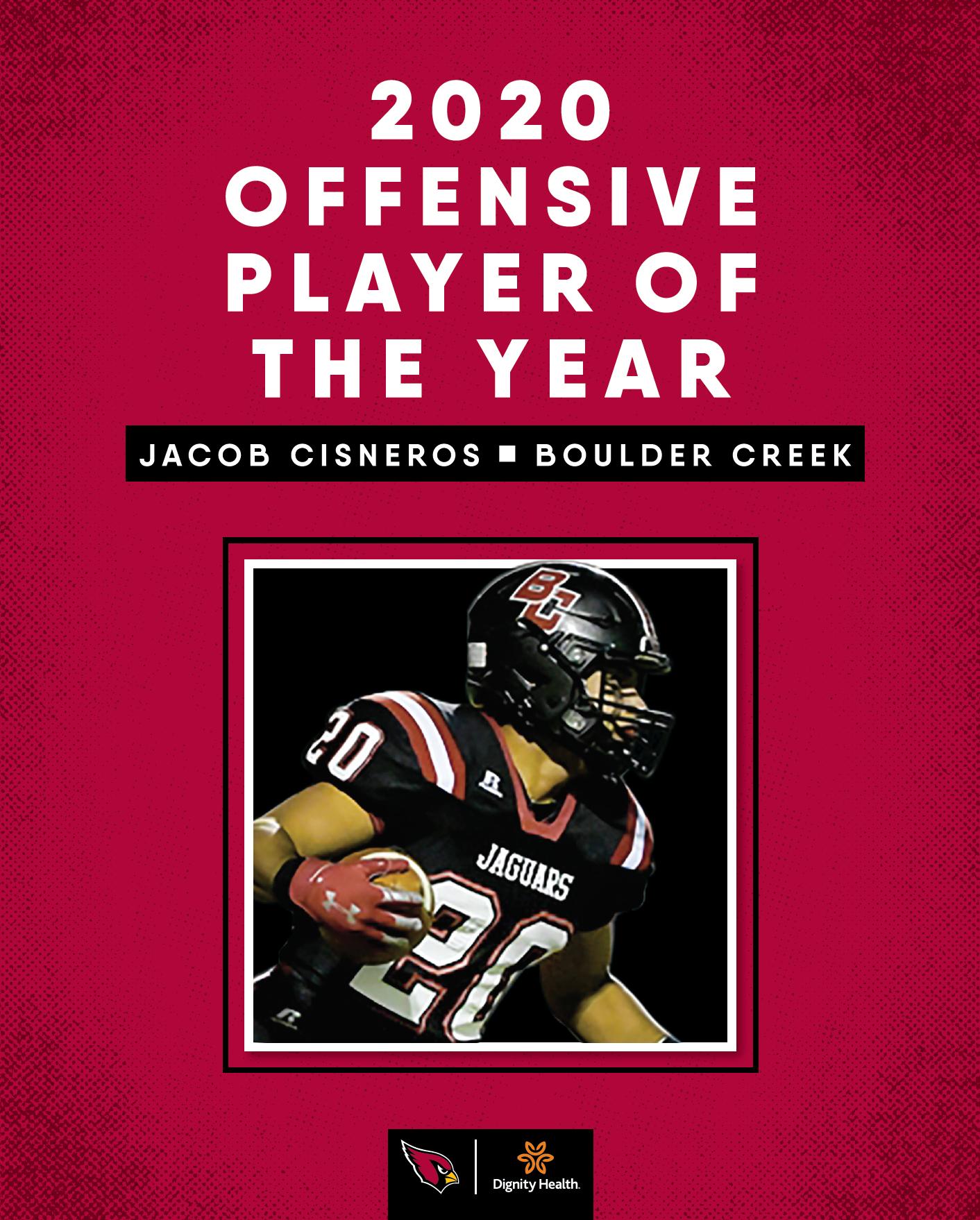 Jacob Cisneros Offensive POY