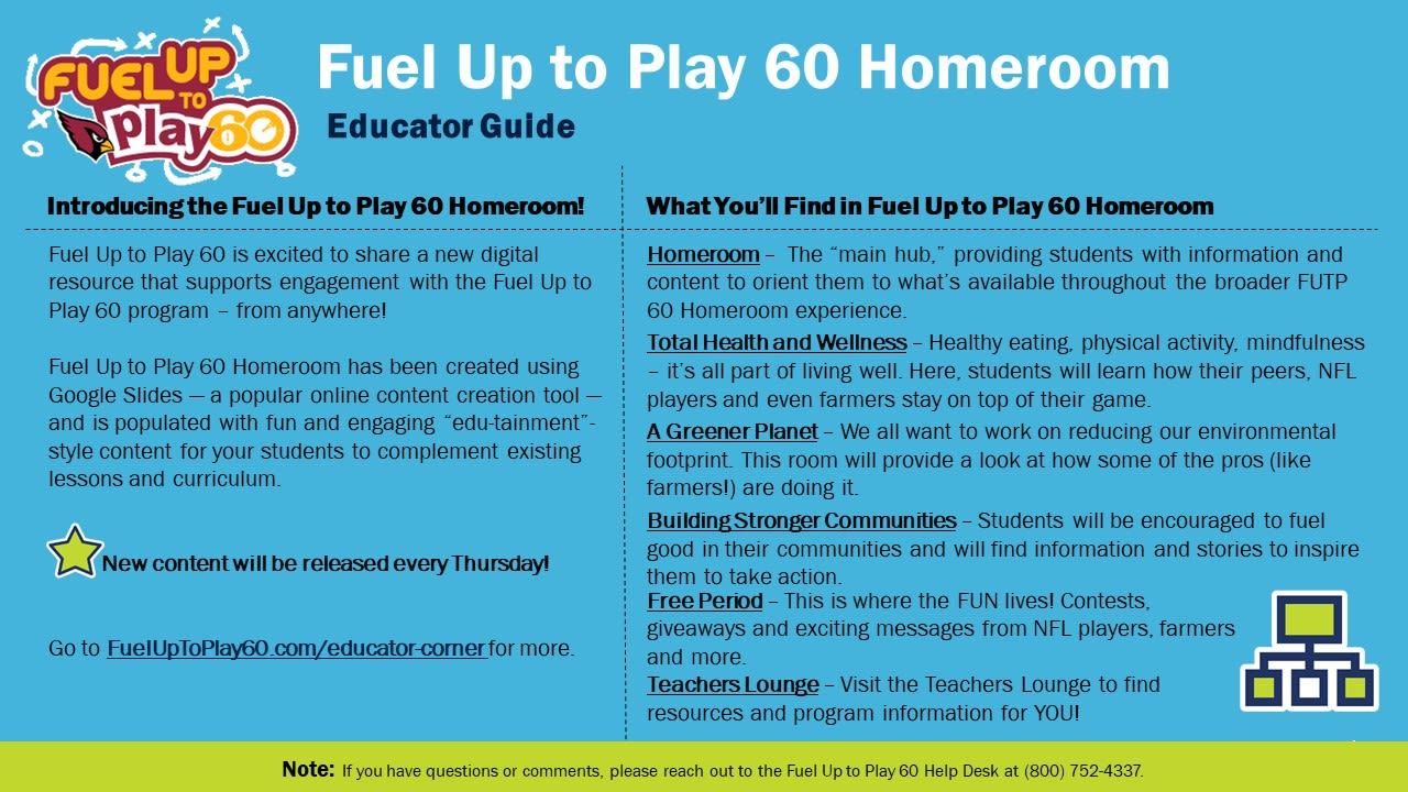 FUTP 60 Homeroom Educator Guide (Cardinals)