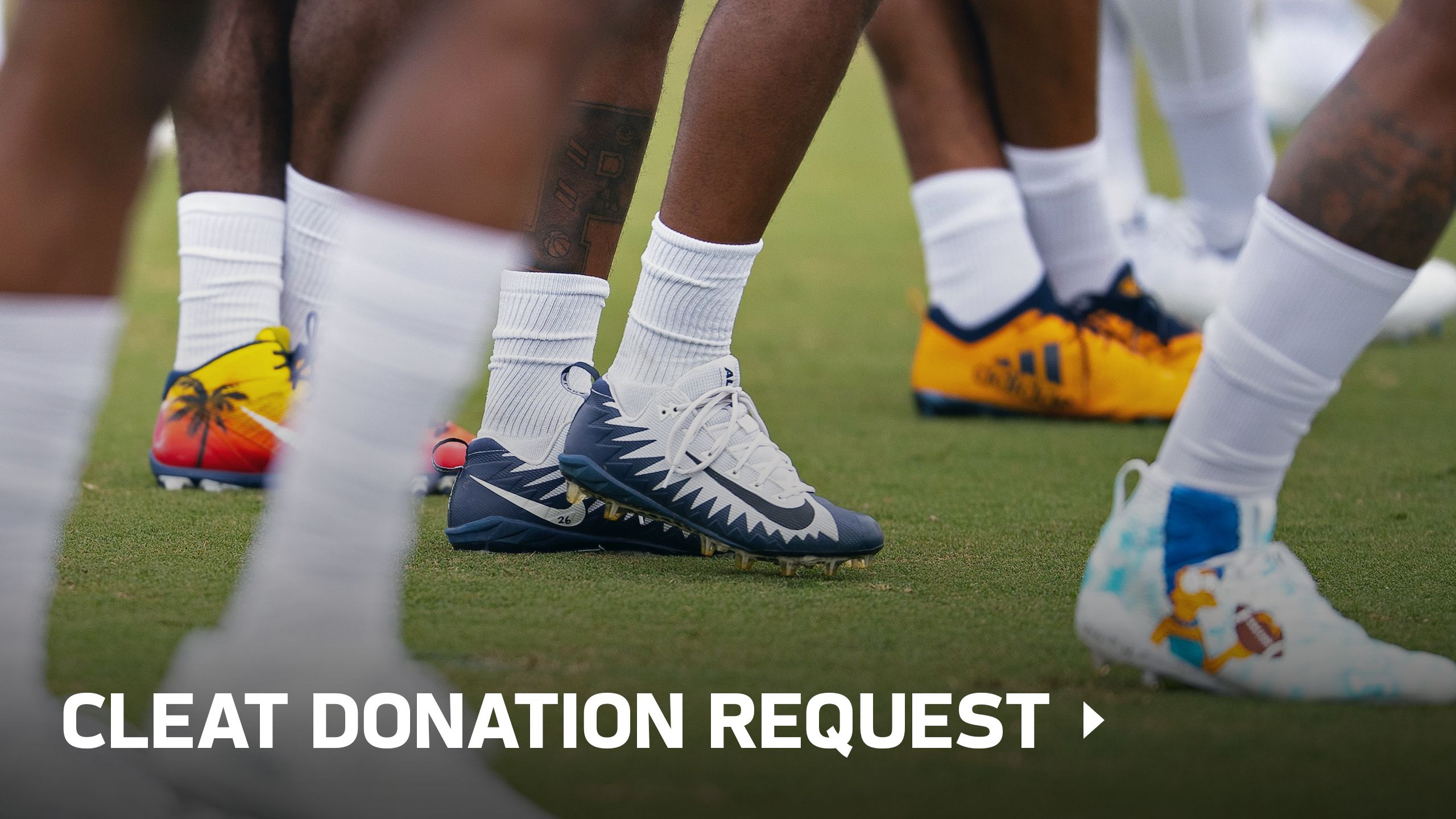 Cleat Donation