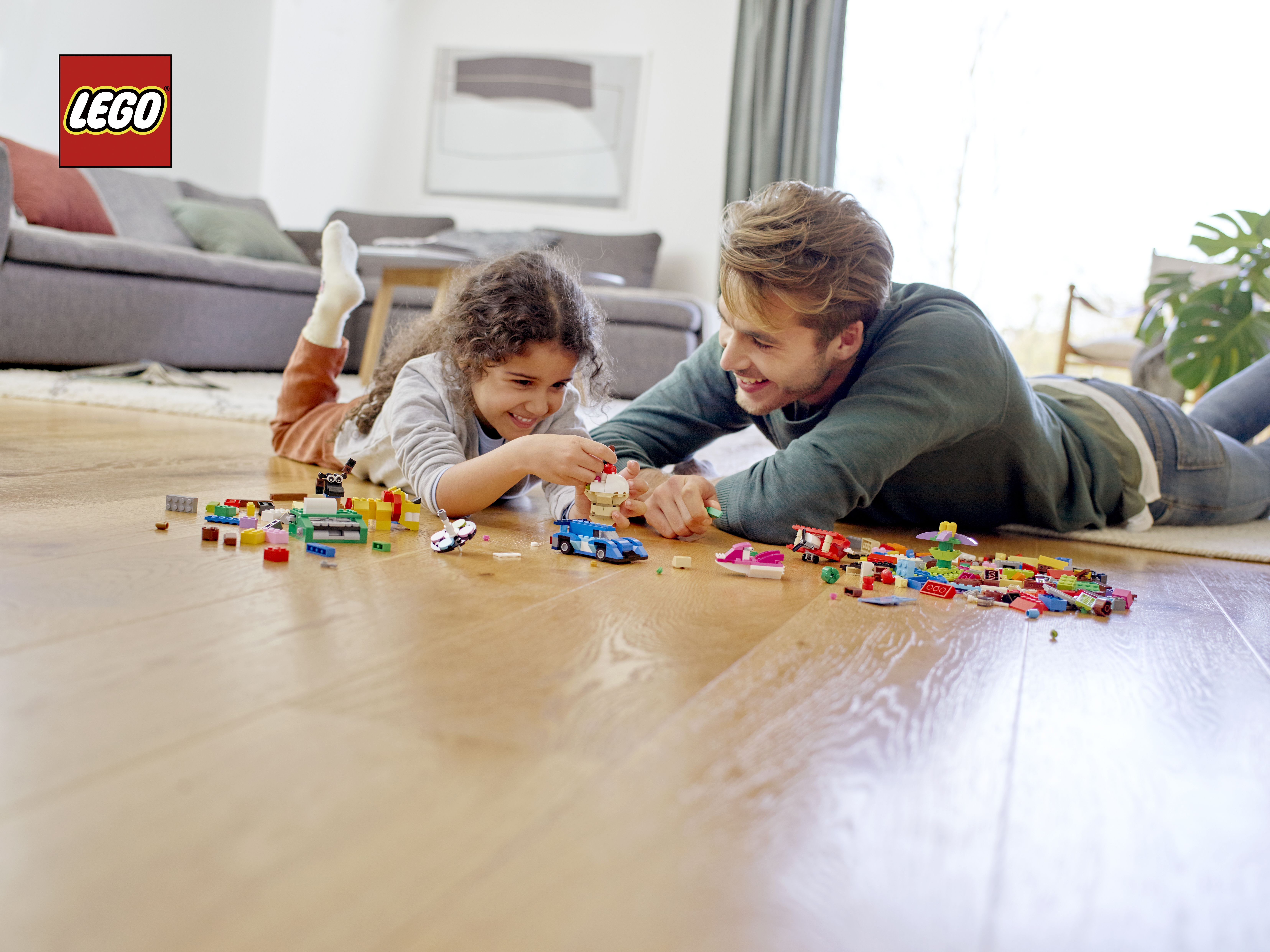 LEGO Supports Playing at Home