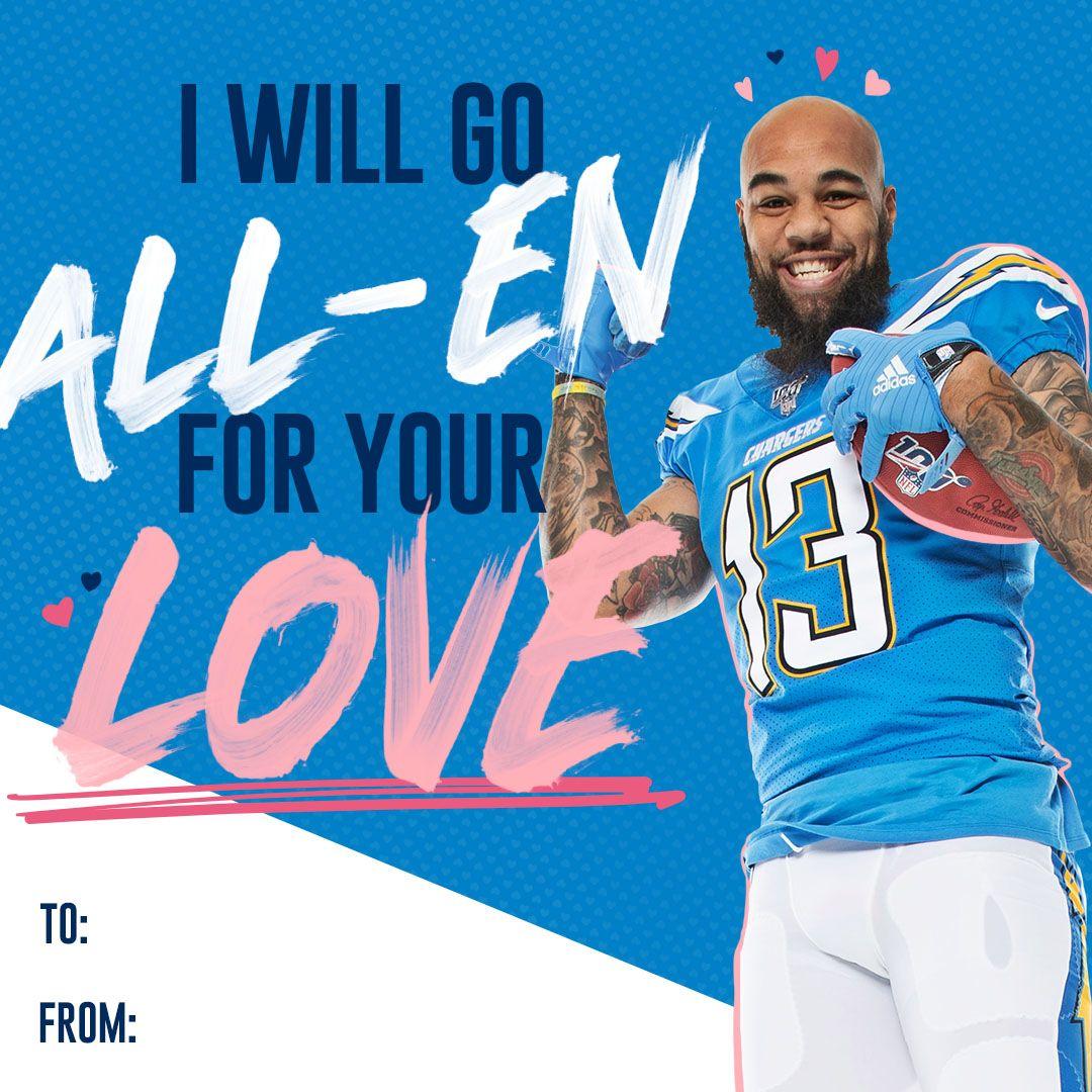 200122_ValentinesDay_Cards_Keenan Allen