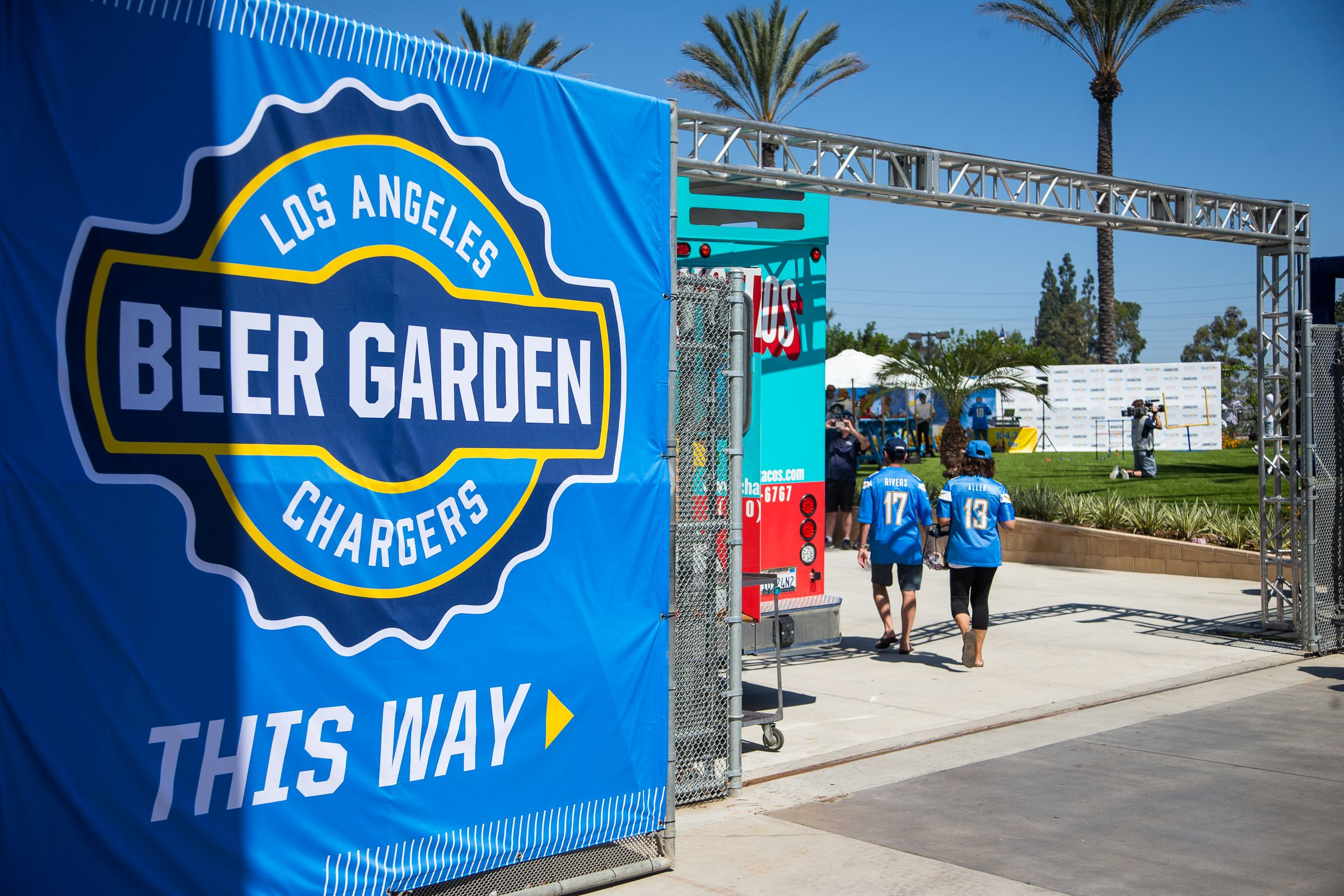 Chargers Beer Garden and Fun Zone