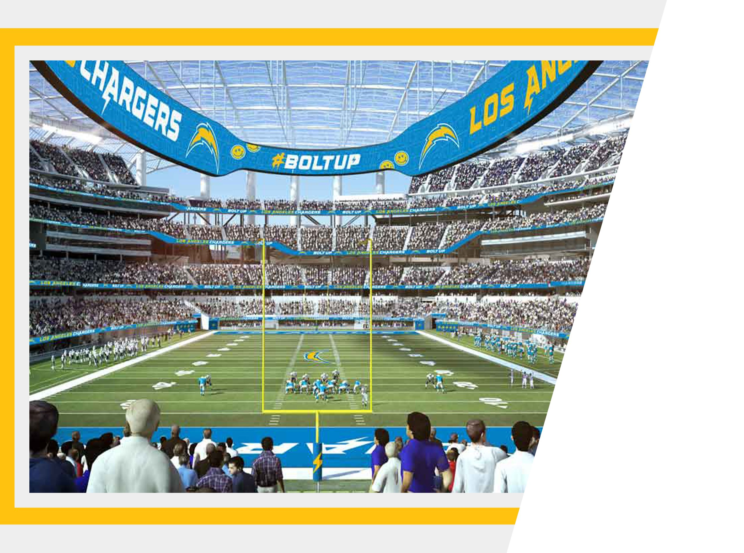 Chargers Seating Map Benefits Los Angeles Chargers Chargers Com