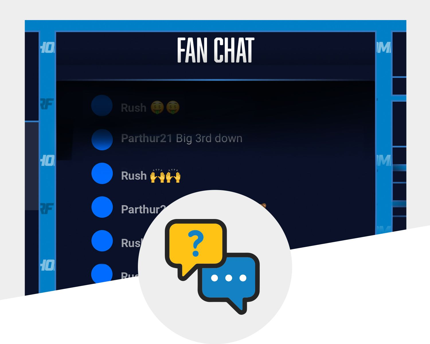 Live Chats with Chargers Legends and Chargers Fans