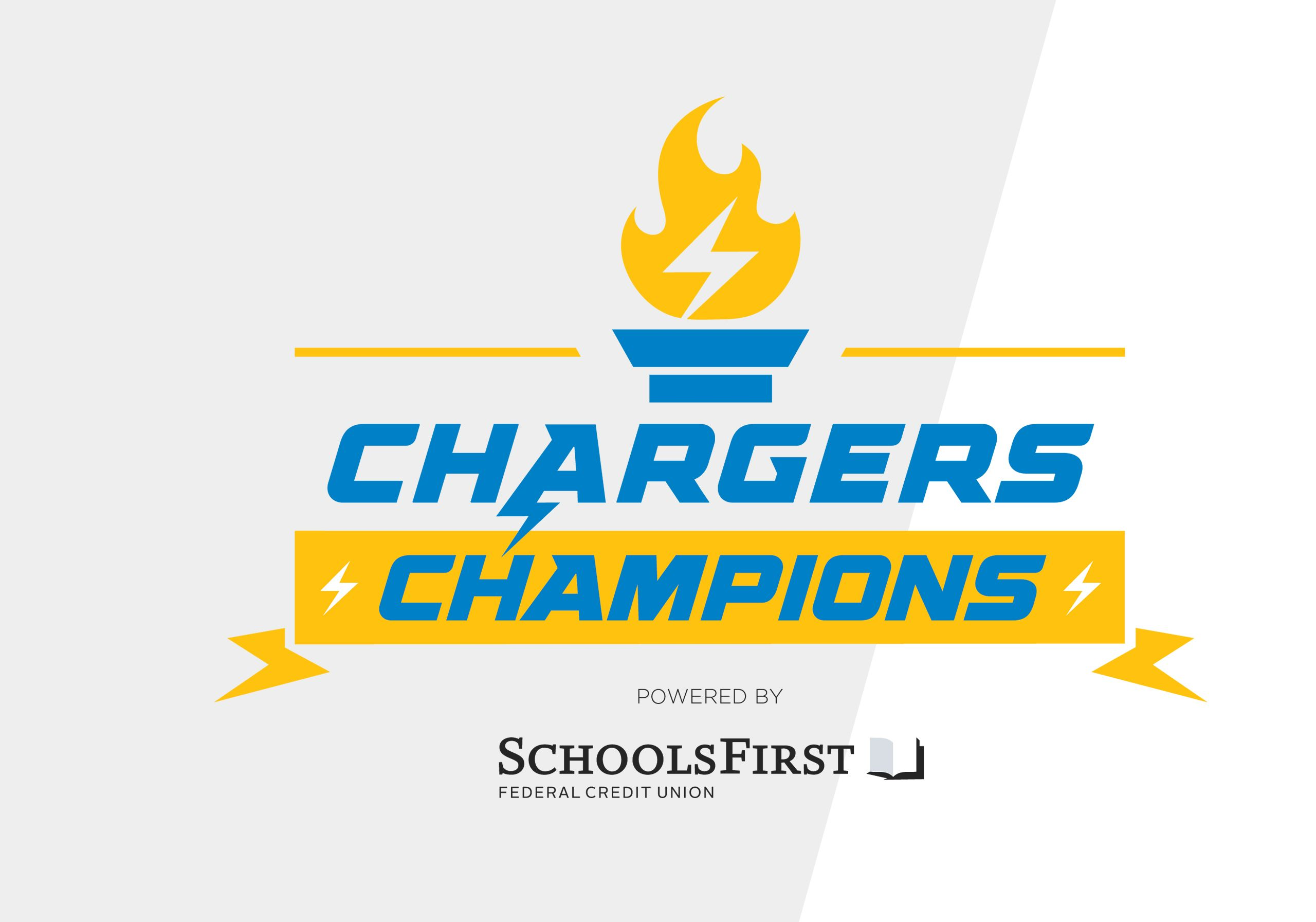 chargers champs promo box