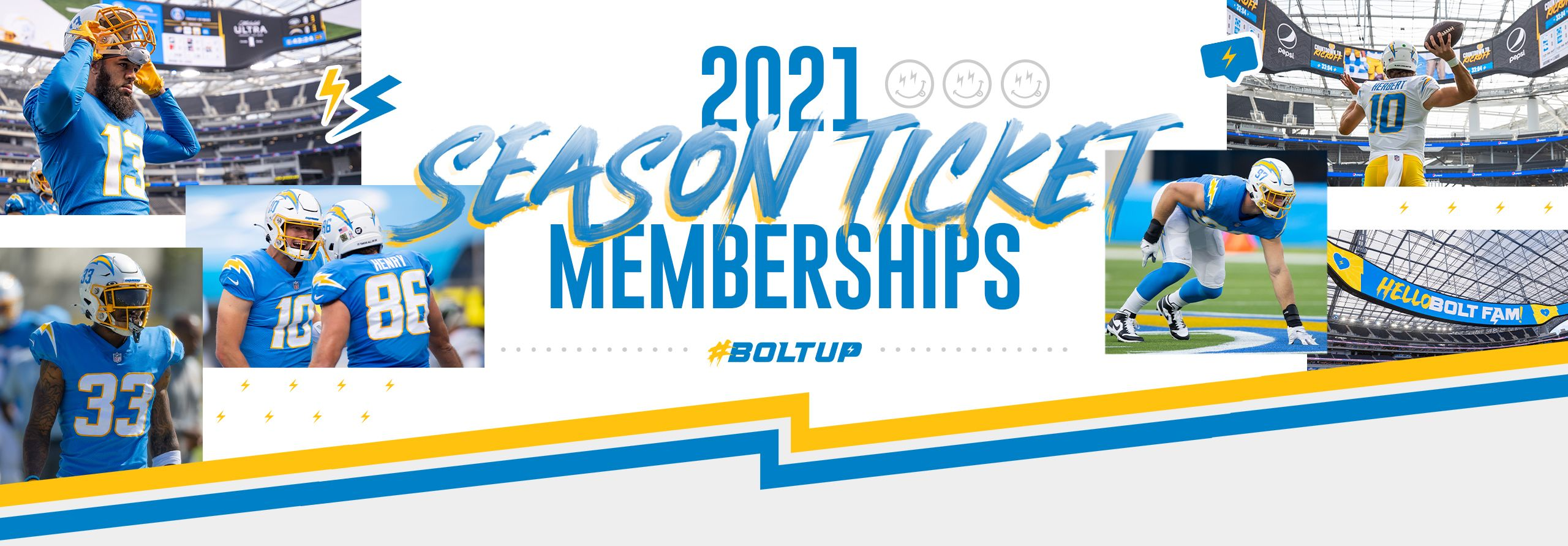 2021 Bolt Fam Season Ticket Memberships
