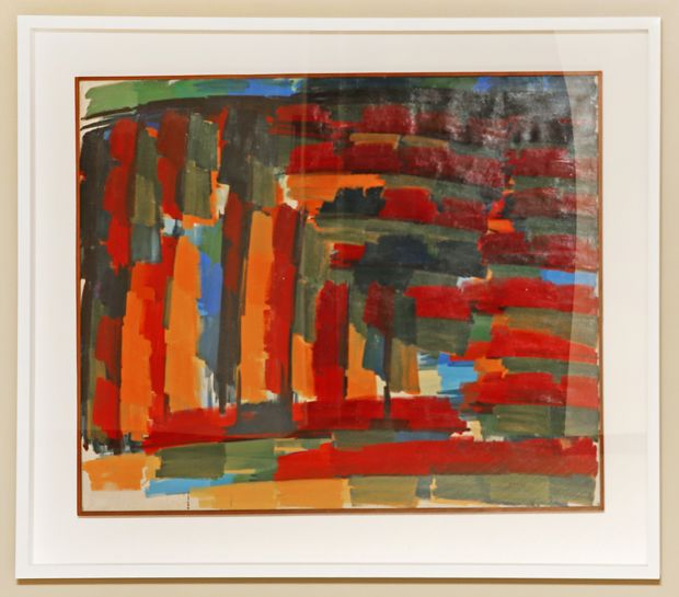 Red Landscape IV, 1960