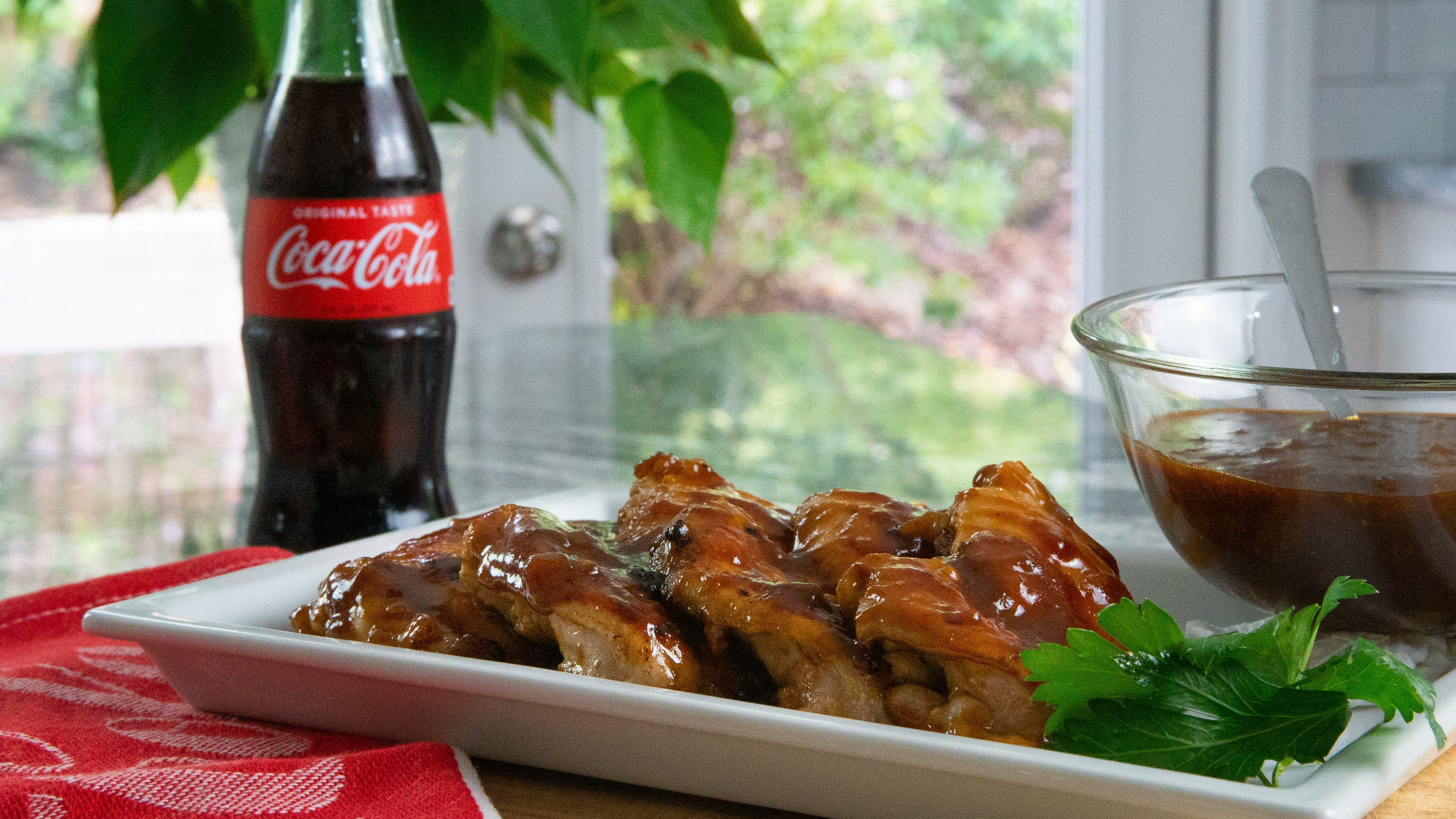 Sweet Southern BBQ Chicken Infused with Coca-Cola