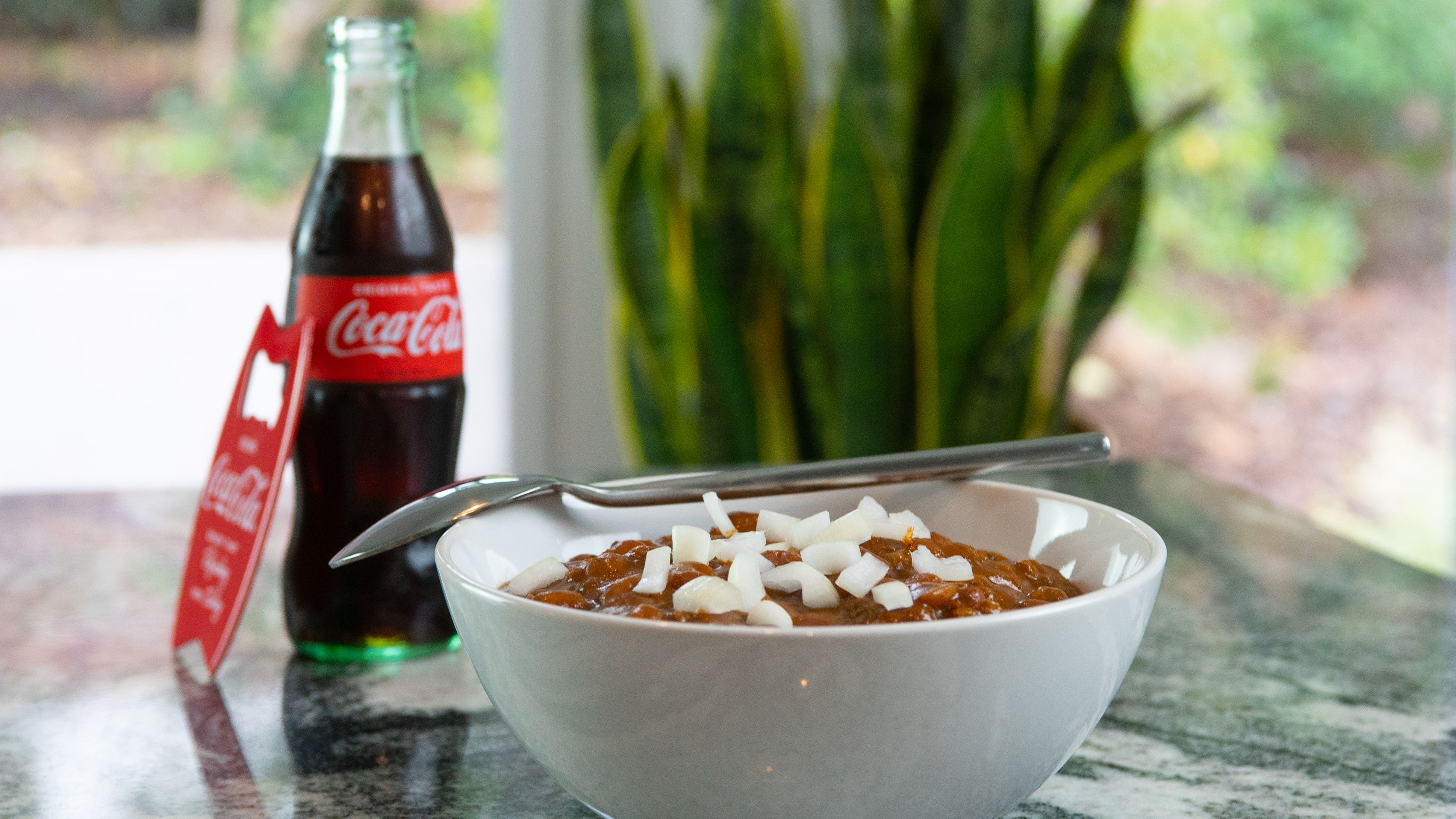 Chili Infused with Coca-Cola