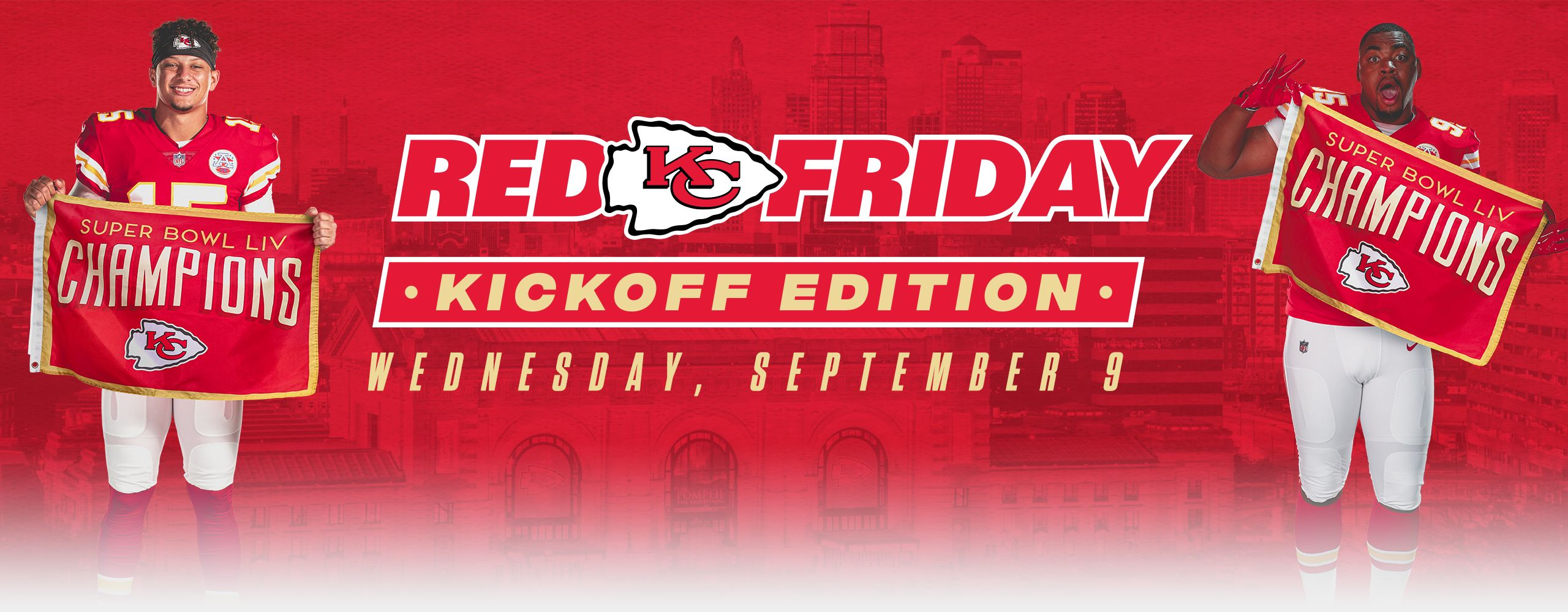 2020 Red Friday Header