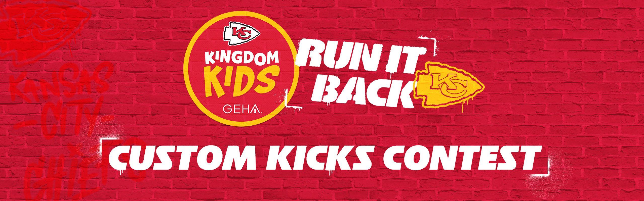 Kids Custom Kicks
