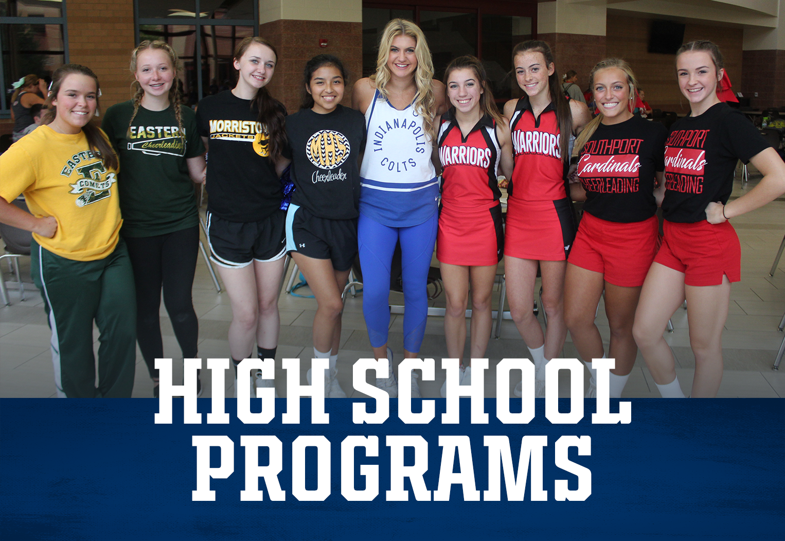 Indianapolis Colts Cheer High School Programs