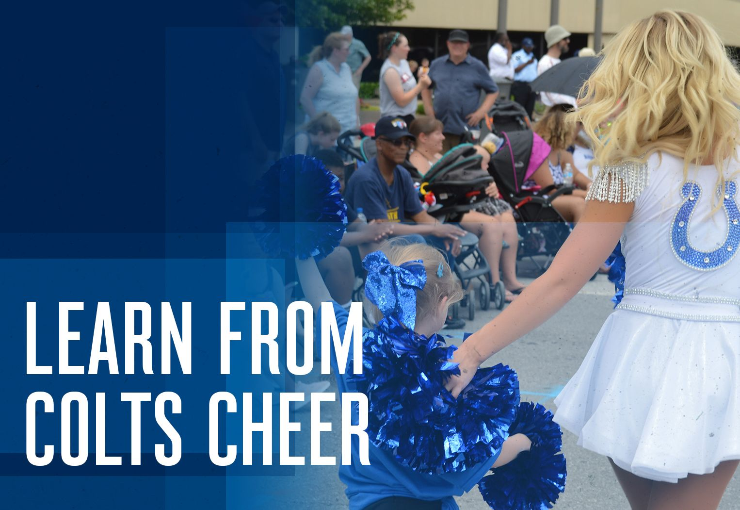 Colts Junior Cheer Learn From Colts Cheer