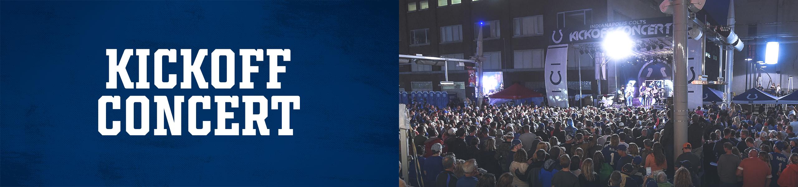 Indianapolis Colts Kickoff Concert