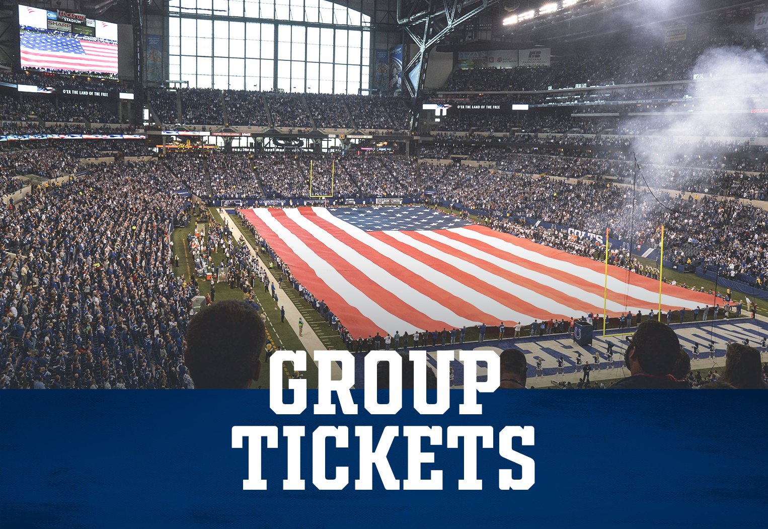 Indianapolis Colts Group Tickets At Lucas Oil Stadium