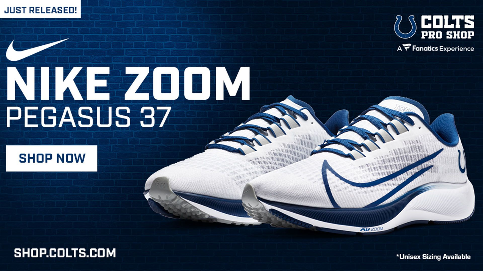 NEW Colts Nike Shoes