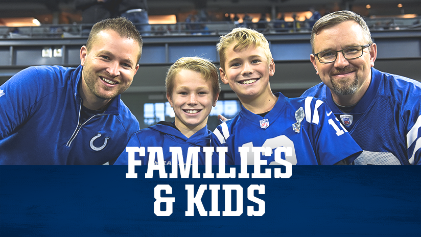 Indianapolis Colts Gameday Families And Kids Info