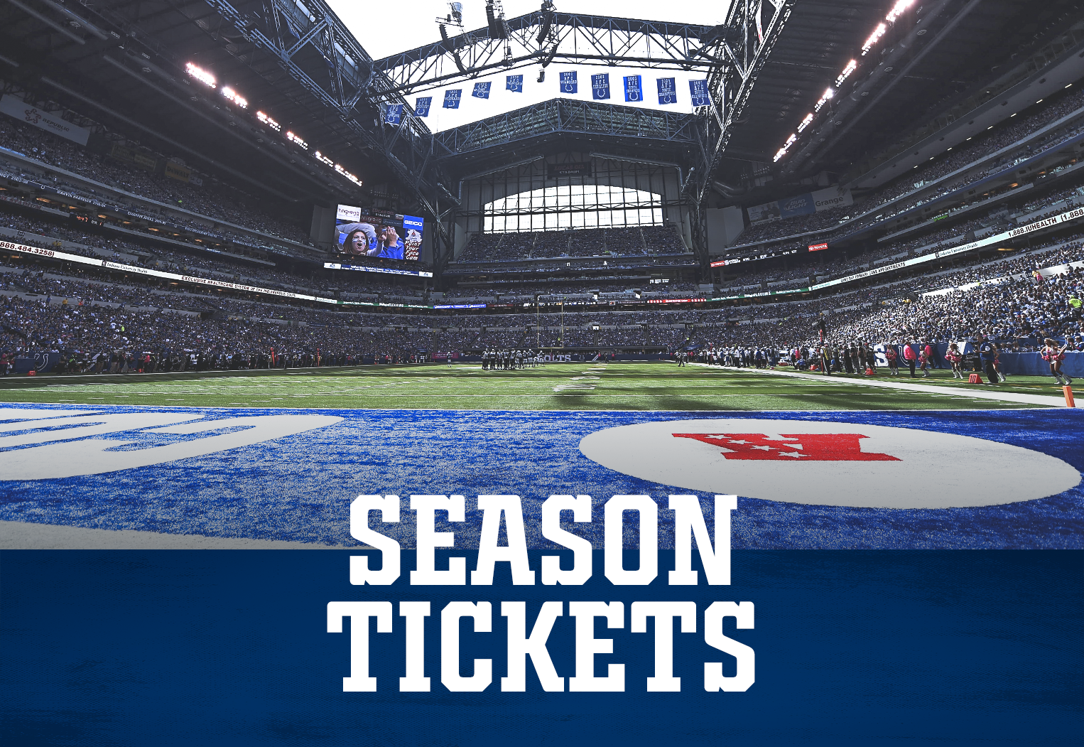 Indianapolis Colts Season Tickets At Lucas Oil Stadium