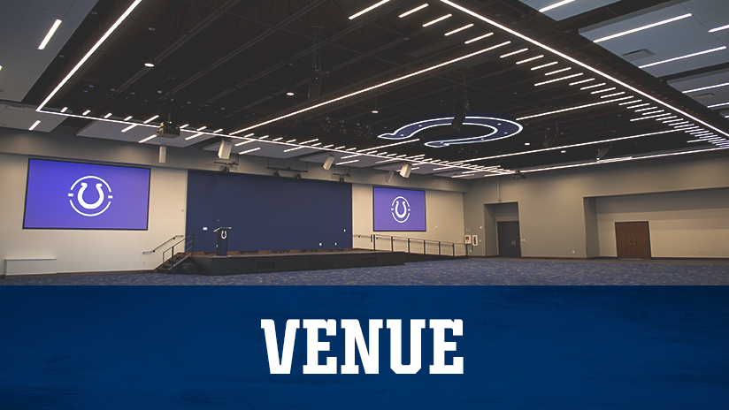Indianapolis Colts Gridiron Hall Venue
