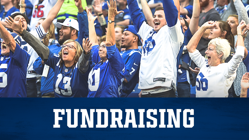 Indianapolis Colts Group Tickets Fundraising Event
