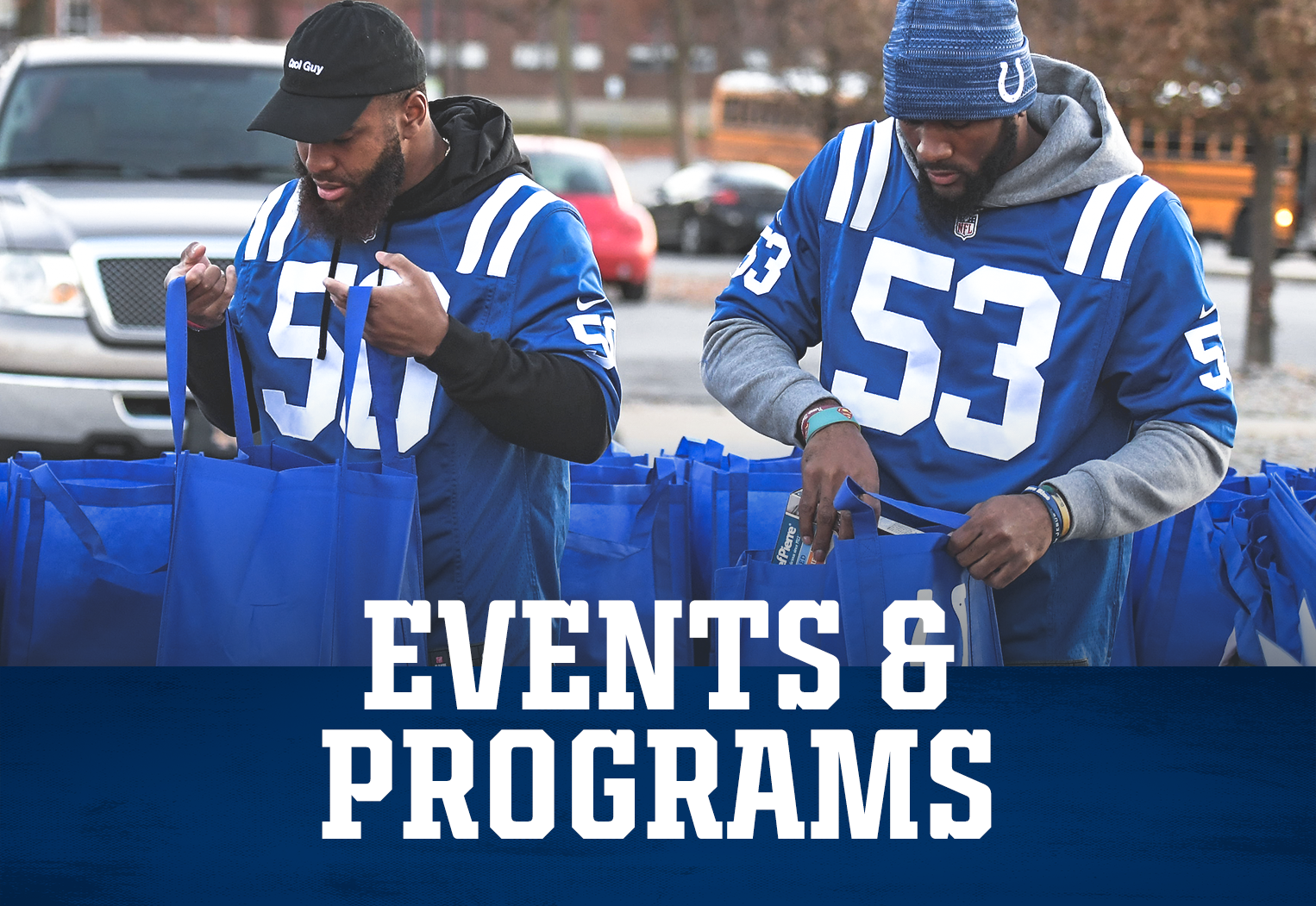 Indianapolis Colts Community Events And Programs