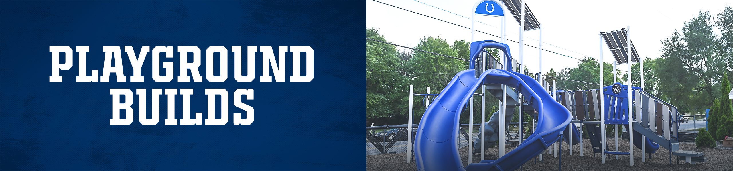 Indianapolis Colts Community Playground Builds