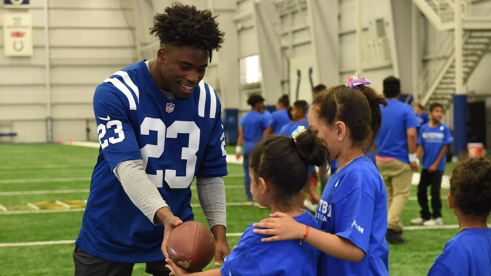 Colts Give Back