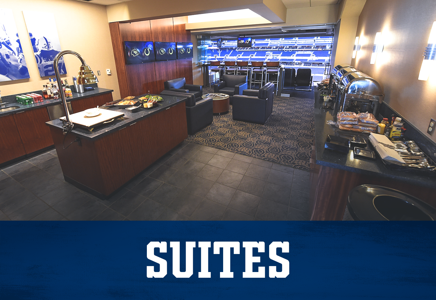 Indianapolis Colts Suites At Lucas Oil Stadium