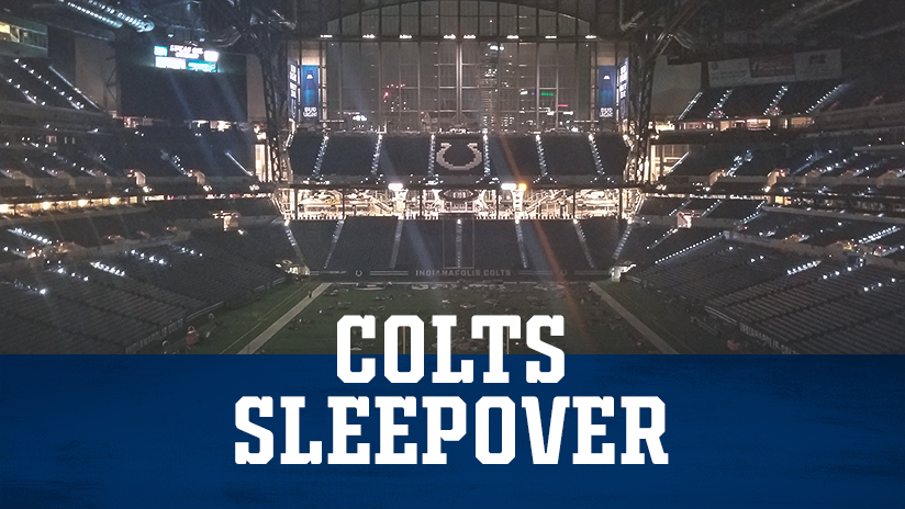 Indianapolis Colts Group Tickets Colts Sleepover Event