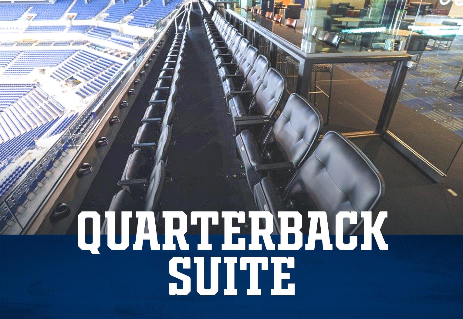 Indianapolis Colts Quarterback Suite At Lucas Oil Stadium