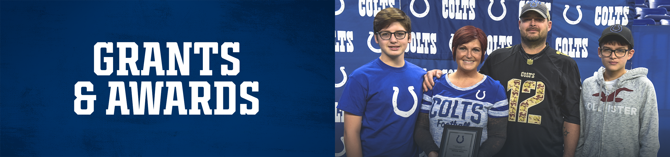 Indianapolis Colts Community Grants And Awards