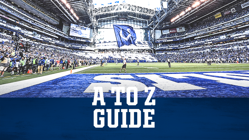 Indianapolis Colts Gameday A To Z Guide