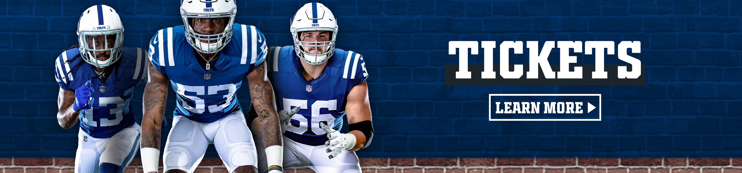 Indianapolis Colts Tickets  Learn More