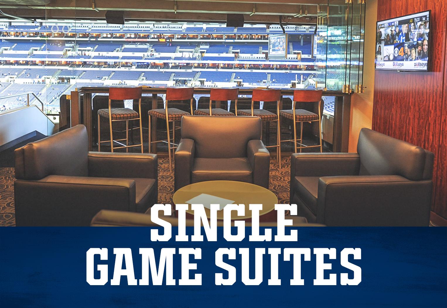 Indianapolis Colts Premium Seating Single Game Suites