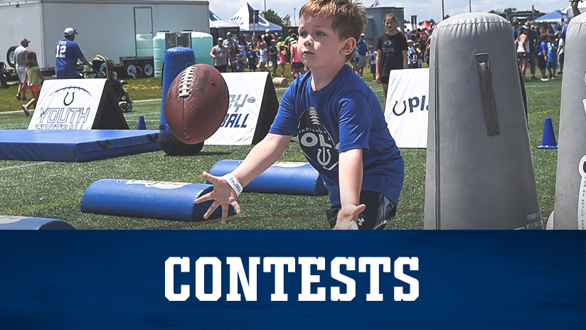 Indianapolis Colts Kids Club Contests