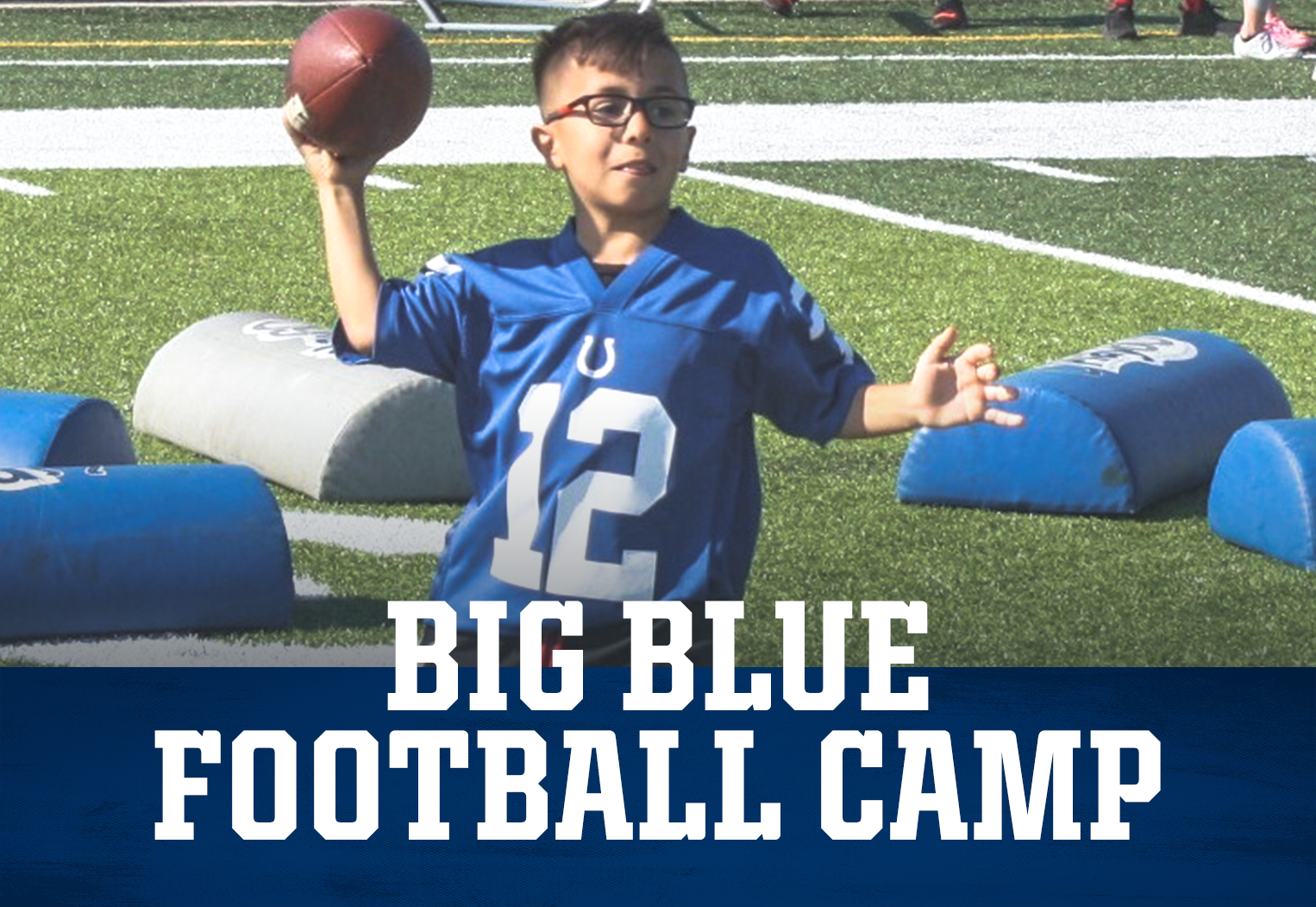 Indianapolis Colts Big Blue Football Camp
