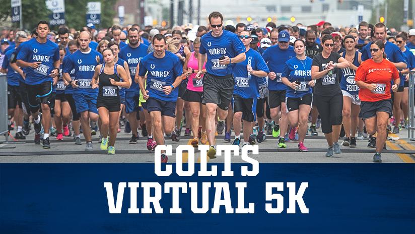 Indianapolis Colts Virtual 5K