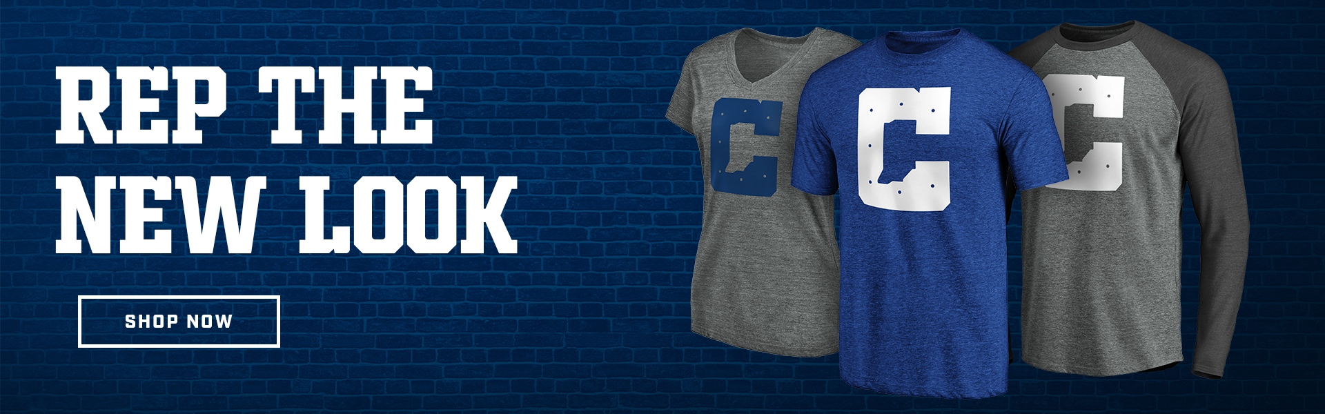 Rep the New Look. Click to shop now at the Colts Pro Shop