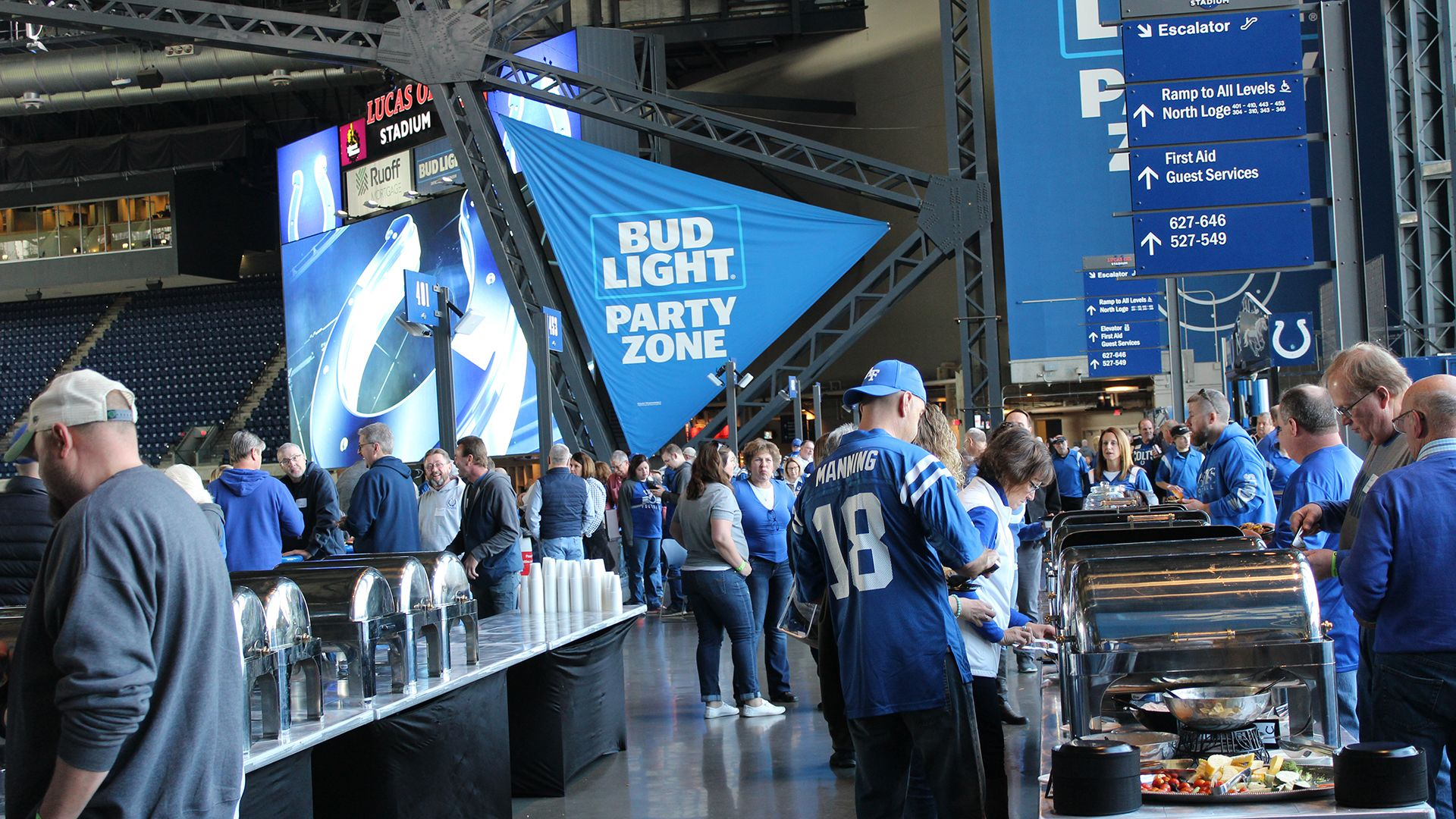 Bud Light Party Zone Corporate Pregame Tailgating Package