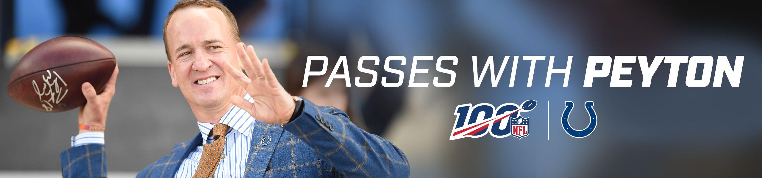 Passes With Peyton
