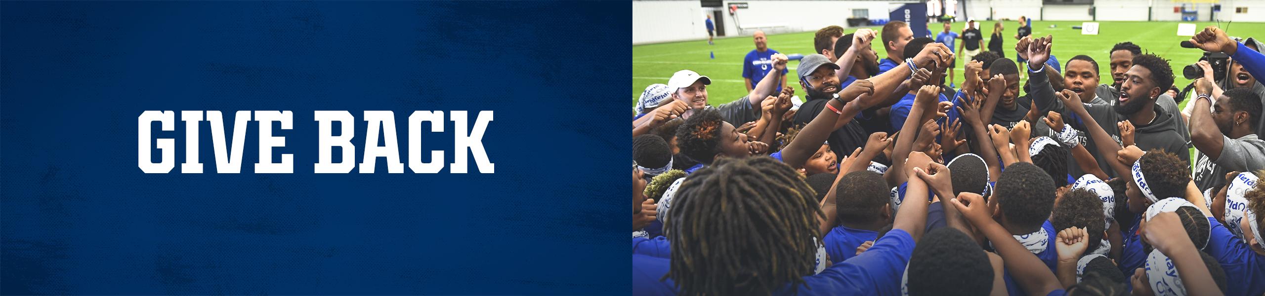 Indianapolis Colts Training Camp Community Giveback