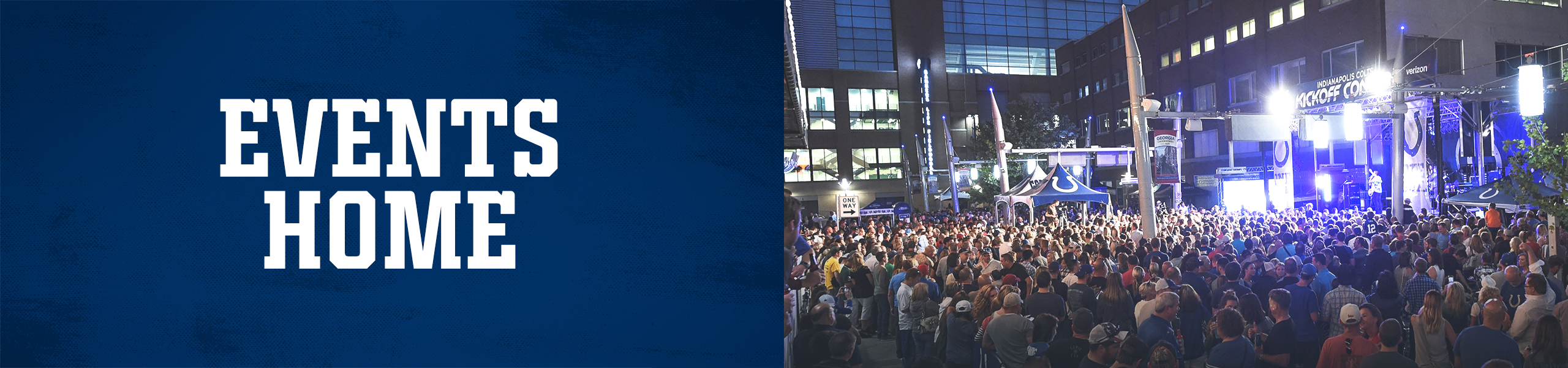 Indianapolis Colts Events Home